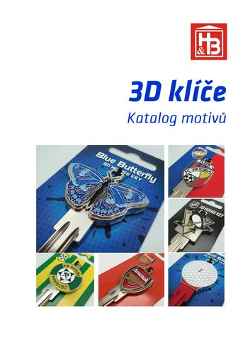 Katalog 3D klíčů