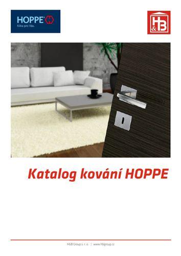 Katalog kování HOPPE