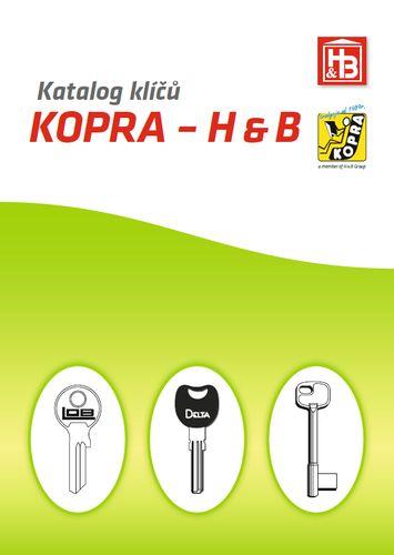 Katalog klíčů KOPRA - H&B
