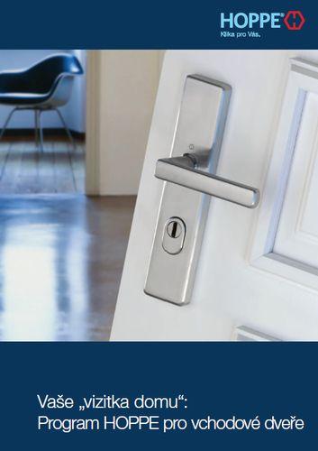 Program pro vchodové dveře