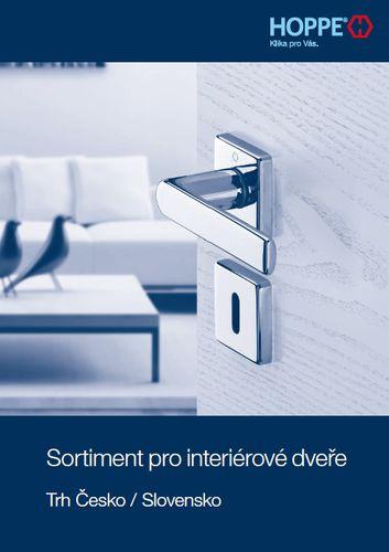 Sortiment pro interiérové dveře