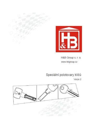 Katalog speciálních klíčů