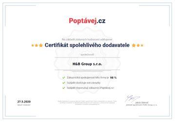 Poptávej - certifikát