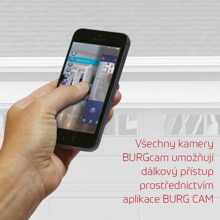 aplikace BURGcam