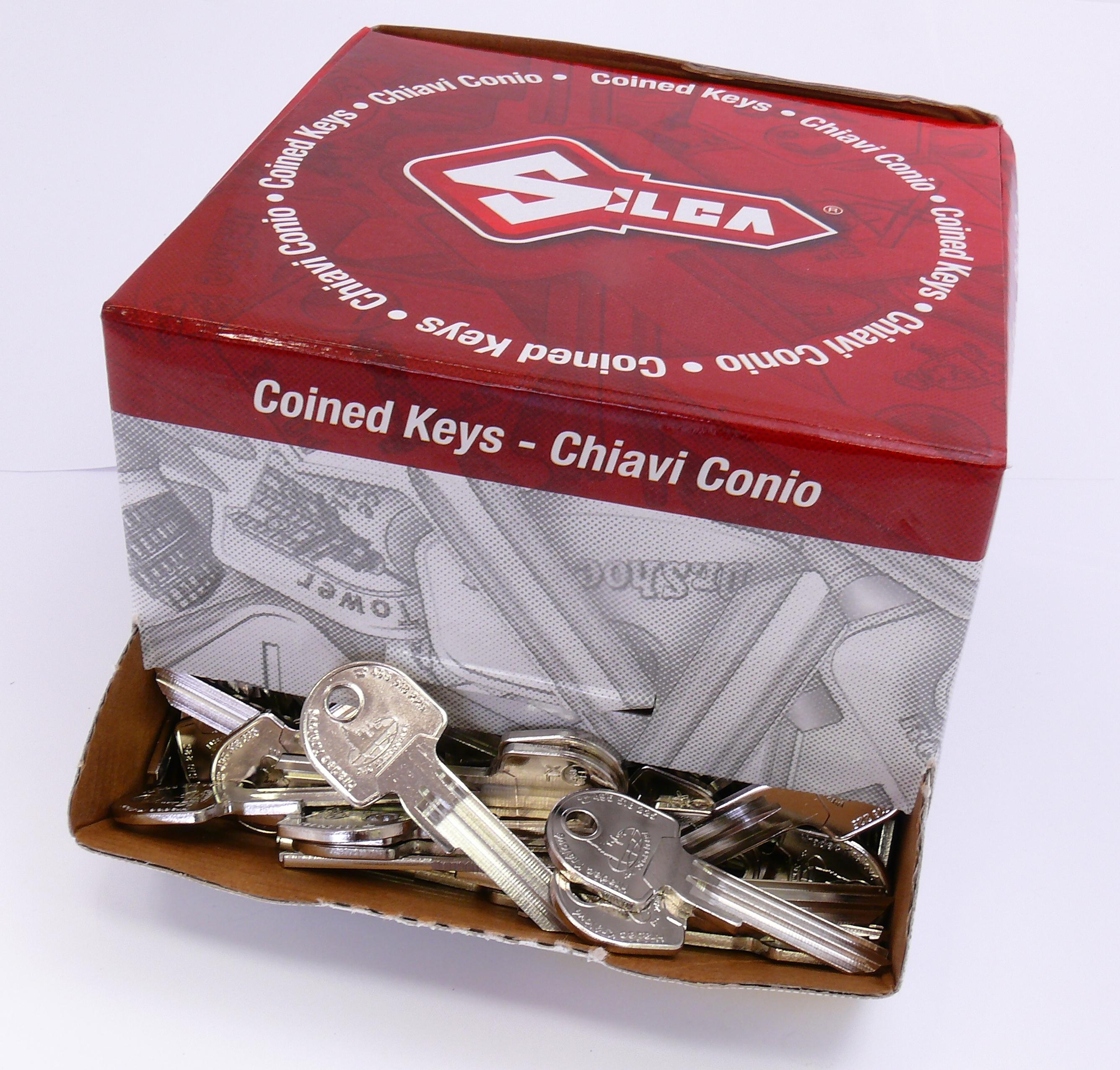 logové klíče