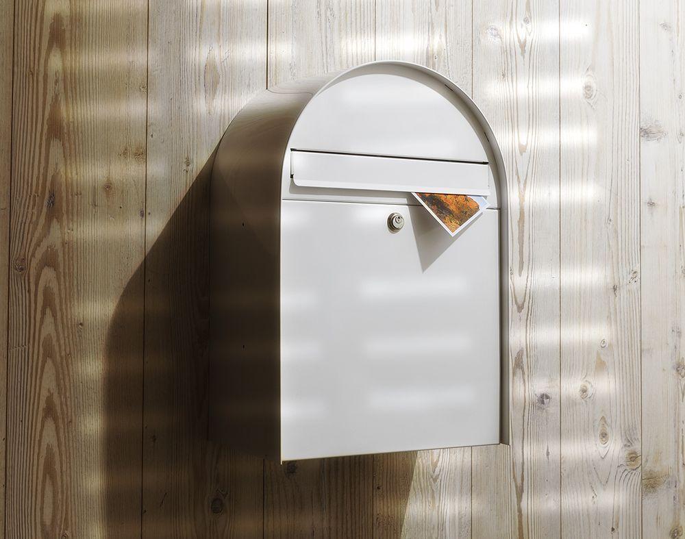 poštovní schránka Nordic - montáž na stěnu